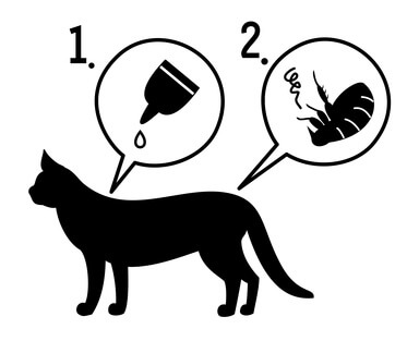 Spot on Katze Pictogram